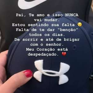 Após prisão de Queiroz, filha faz homenagem em rede social