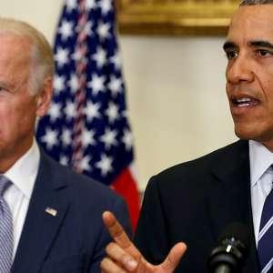 Obama ajuda a arrecadar US$ 11 mi para campanha de Biden
