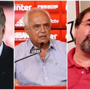 Corrida eleitoral do São Paulo tem críticas a Leco dos dois lados e fuga do rótulo de 'situação'