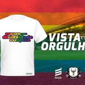 América-MG é parceiro de coletivos LGBTQ+ com a camisa 'Vista esse Orgulho' contra o preconceito