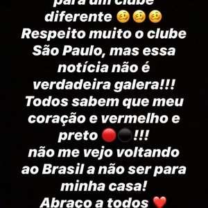 """Paquetá nega ida ao São Paulo: """"Coração é preto e vermelho"""""""