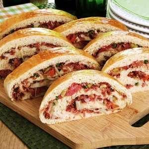 9 Receitas de pão recheado para um lanche da tarde delicioso