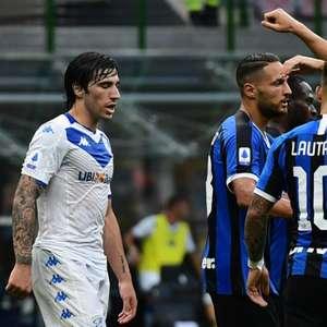 Inter de Milão goleia o Brescia e permanece no G-4 do ...