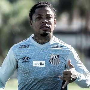 Início de treinamentos no Santos conta com retorno de Marinho, Uribe e atleta recuperado de COVID-19