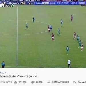Flamengo transmite jogo no YouTube com 2 milhões ...