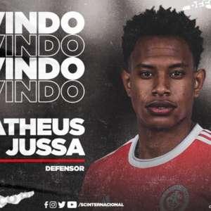Matheus Jussa é confirmado como novo reforço do Internacional