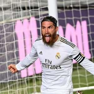 Sergio Ramos marca de pênalti, Real Madrid vence o ...