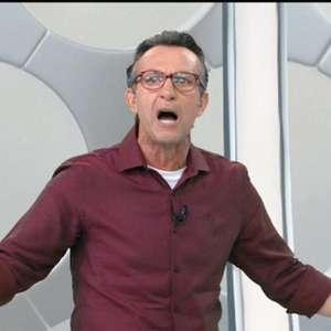 Neto, sobre conversa com empresário de Dudu: 'Não tem proposta para sair do Palmeiras'