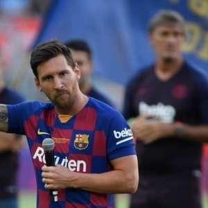 'Saída de Messi pode mudar muita coisa no Barcelona', ...