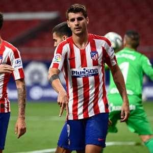 Com dois de Morata e um de Koke, Atlético de Madrid ...