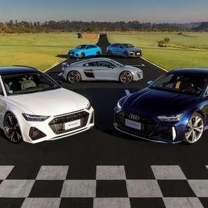 Audi vende carros esportivos como nunca no Brasil