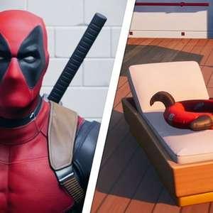 Fortnite Temporada 3 conta com as boias do Deadpool
