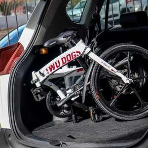 Lugares onde cabe uma bicicleta dobrável