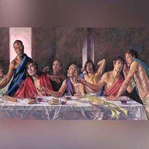 Catedral reabre com Jesus negro em pintura de última ...