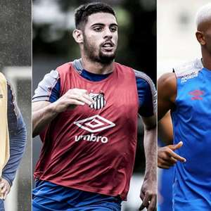 Ataque do Santos tem a menor média de idade dos quatro ...