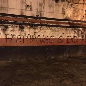 Muros da Gávea amanhecem pichados após anúncio de ...