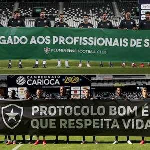 Alinhados fora de campo, Fluminense e Botafogo duelam na ...