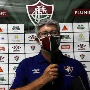 Odair cita vantagem física do Flamengo, mas garante Fluminense focado do início ao fim em final