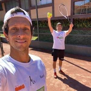 Marcelo e Daniel Melo seguem rotina de treinos para ...