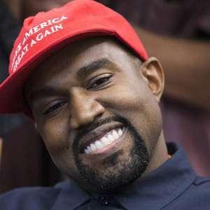 Rapper Kanye West anuncia candidatura à presidência dos EUA