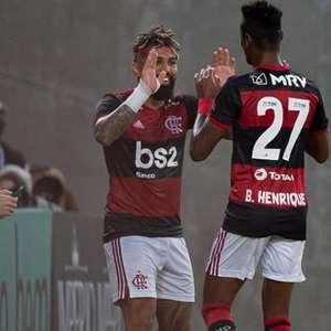 Bruno Henrique e Gabigol 'garantem' quase 60% dos gols