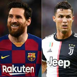 Messi e CR7 são as estrelas dos Jogos Históricos dessa ...