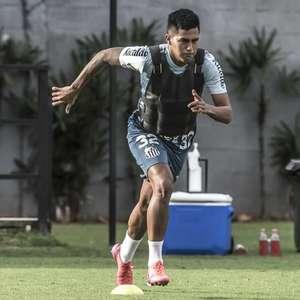 Promovido aos profissionais do Santos, Ivonei fala sobre ...