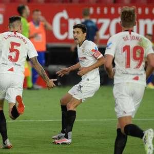 Sevilla sofre pressão, mas vence o Eibar no encerramento ...
