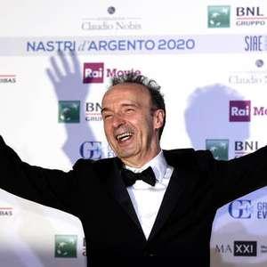 Roberto Benigni dedica prêmio por 'Pinóquio' a Ennio Morricone