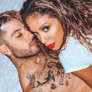 Anitta admite 'raiva' do namorado, Gui Araújo, após ...