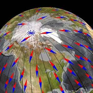Campo magnético da Terra muda mais rápido do que se previa