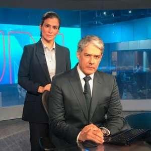JN 'boicota' Bolsonaro após o presidente esnobar a Globo