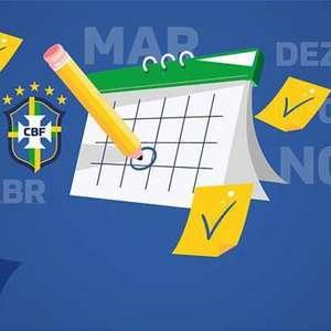 CBF anuncia novo calendário e Campeonato Brasileiro ...