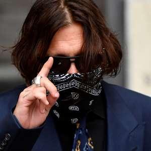 Johnny Depp cortou o dedo durante briga de três dias com ex-mulher