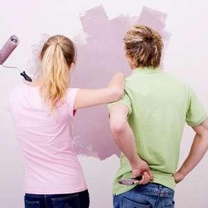 Pintura doméstica: tintas de qualidade fazem total diferença