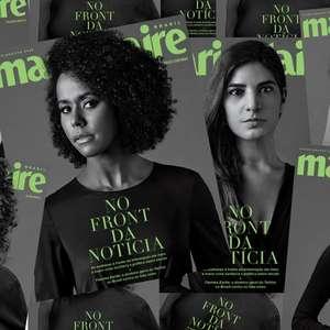 Jornalistas da Globo em edição histórica de revista feminina