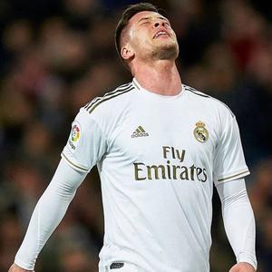 Luka Jovic pode deixar o Real Madrid no fim da temporada
