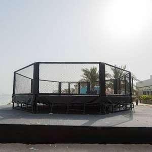UFC estreia 'Ilha da Luta' com zona de segurança, mais de 3 mil testes e até túneis de vento