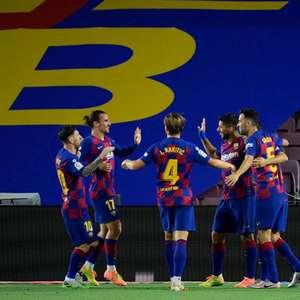 Na disputa do título, Barcelona encara o Valladolid pelo ...