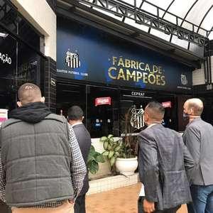 Empresa que visitou o Santos fecha acordo de patrocínio ...