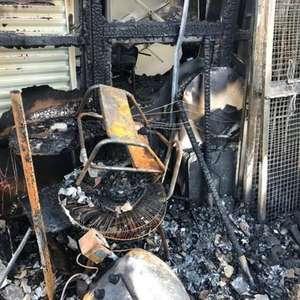 Incêndio em prédio da saúde destrói 2 mil testes de ...