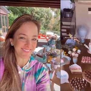 Ticiane Pinheiro faz festa de aniversário para filha com Tralli