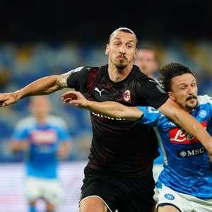 Em jogo animado, Napoli e Milan empatam pelo Campeonato ...