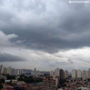 Frente fria muda o tempo em São Paulo