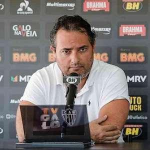 Alexandre Mattos pede cautela com possível favoritismo do Galo e vê Fla e Palmeiras muito à frente ainda