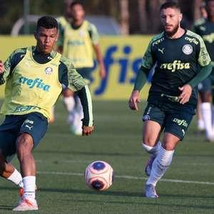 Ainda sem Luxemburgo, Palmeiras tem dia com treinos ...
