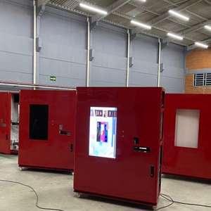 Rede lança primeira máquina automática de pizza do Brasil