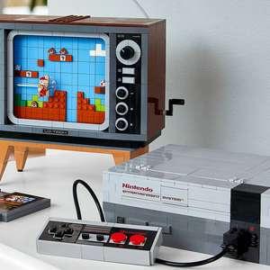 Com direito a cartucho do Super Mario, Lego lança kit que recria o Nintendinho