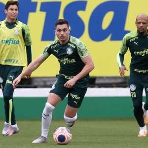 Após trabalho físico, Luan Silva volta a treinar com ...