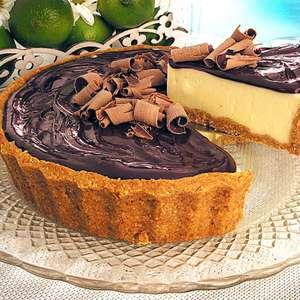 9 Receitas de torta de limão com chocolate que são ...
